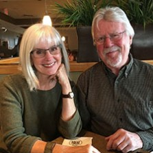 Judy Hill and Malcom Mincher