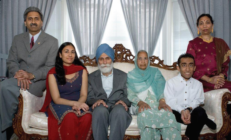 dhami family donor